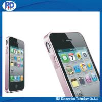 Quality Aluminum Metal Bumper Frame For iPhone 4s, For iPhone 4 Bumper Case for sale