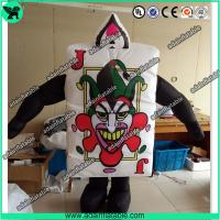 Quality Festival Event Parade Wlking Inflatable Poker Costume Moving Customized Inflatable for sale