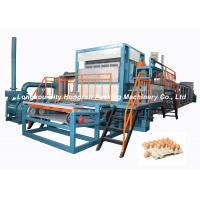 Full - Automatic Egg Tray Machine Diesel Oil Fuel Type / Pulp Molding Equipment