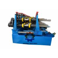 Quality Durable 20 Stations Cable Tray Roll Forming Machine 10 Meter Per Minute for sale
