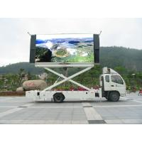 Quality P5 P6 P10 SMD Truck Mounted LED Display , Mobile LED Video Wall Screen for sale