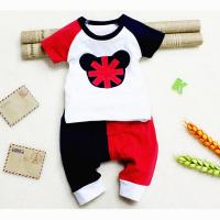 China Summer baby clothes sets,Children's baby cotton short sleeve baby sets on sale