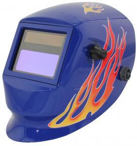 Quality Fashion Solar Powered Auto Darkening Welding Helmet Welding Mask OEM Service for sale