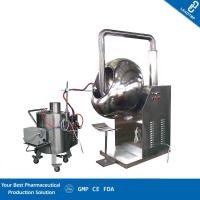 Quality SHL Series Automatic Tablet Coating Machine 1.5kw Main Motor Ress Shaped Slice for sale