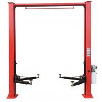 Quality Double Cylinder Car Vehicle Lift 4000kg Overall Height 3730mm Clear Floor Design for sale