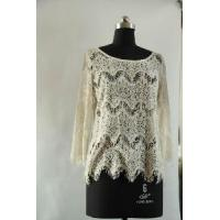 China Ladies Lace Top (WY12016) on sale