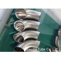 Quality Hygienic Valves And Fittings 1/2'' - 12'' , TP304 316L Stainless Steel Sanitary Weld Fittings for sale