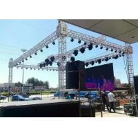 China 6082 Recyclable Stage Roof Truss , 12 - 30m Span Trade Show Truss For Outdoor Events on sale