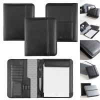 Quality Executive Black Leatherette Portfolio with Gift Box for sale