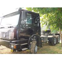 Quality 371HP 380HP 420HP 40 ton HOWO 4X2 6X4 6X6 Heavy Duty Truck , Tractor Truck,EURO III Prime Mover Truck , Wild Black, Red for sale