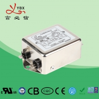 Quality 10A 115V Power EMI EMC Filter Single Phase With Increased Attenuation for sale