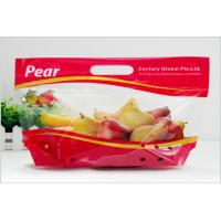 Quality Heat Seal Transparent Fresh Fruit Bags Packaging Pouch Gravure Printing FDA Standard for sale