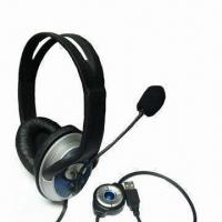 Quality 2.1 Channel Headphone with Microphone, USB Plug, Stero Sound and Speaker On/Off for sale