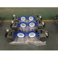 Safe Double Acting Rotary Air Cylinder Actuator Ball Valve Set CE Approved