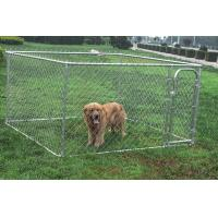 Buy Outdoor Large Metal Chain Link Dog Cat Kennel Run Pet Accessories at wholesale prices
