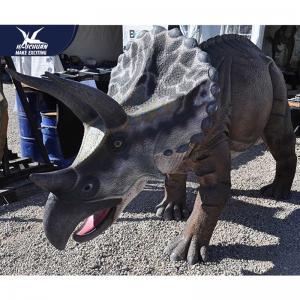 Buy cheap Interactive Handmade Dinosaur Yard Ornament For Theme Park Equipment from wholesalers