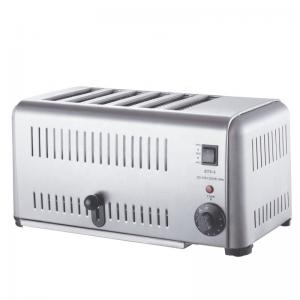 Quality Commercial 6 Slice 310mm Electric Toast Maker for sale