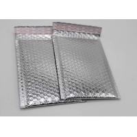 China Waterproof Silver Bubble Wrap Envelopes , 6x10 Metallic Foil Bubble Bags Anti Rub on sale