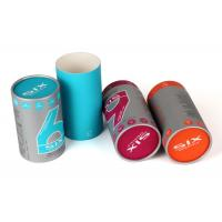 China Offest Print Paper Cylinder Containers White Coated Paper Liner Tea / Coffee Use on sale