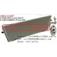 Quality Auto AC Condenser Assy for Mitsubishi Lancer 96-01 1996-2001 1997 97 1998 98 1999 99 661X314X16 mm    2000 for sale