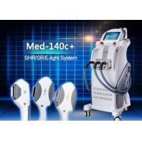 Quality E-light IPL RF Permanent Hair Removal Beauty Equipment with RF Power 50w IPL Power 2500w for sale