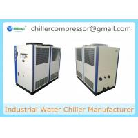 China 10tons Air Cooled Scroll Industrial Glycol Chiller for Brewery Beer Cooling on sale