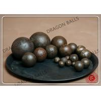 Quality Dry / Wet High Chrome Grinding Balls High Precision +-1mm / +-2mm Tolerance for sale