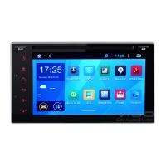 Quality Universal 2 Din Android 4.4 System Car DVD GPS Navi WIFI 3G Autoradio Navigation for sale