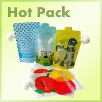 China Dishwasher Friendly BPA - Free Package Stand Up Baby Food Spout Pouch on sale