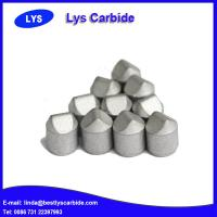 Quality Cemented carbide buttons & inserts for mining tools X types wedged button for sale