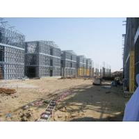 Quality Steel Frame Apartment Building / Typhoon Resistance Prefabricated Apartment for sale