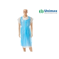 Quality Unimax PE Disposable Plastic Aprons For Food Industry for sale