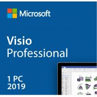 Buy cheap Hot sale Full version with lifetime-license Microsoft Visio 2019 Professional from wholesalers
