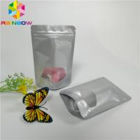Quality Mini Aluminum Foil Pouch Packaging Stand Up Ziplock Recyclable Candy Sugar Applied for sale