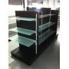 Buy cheap White supermarket shelf light duty gondola shelf from wholesalers
