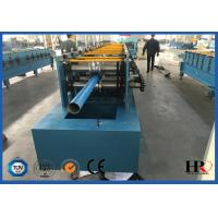 China 4kw Rain Gutter Roll Forming Machine For K Style Gutter / Half Round Gutter on sale