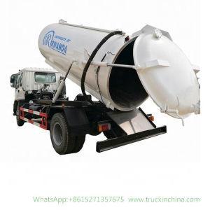 I-S-U-Z-U Vacuum Truck Cesspit Emptier -10000 Liters (Septic Tank) Rwanda