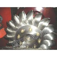 Quality Hydro Pelton Turbine Runner  with Forge CNC Machining for High Head Hydropower Project for sale