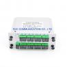 Buy cheap PON FTTX 1650nm Fiber PLC Splitter SC APC 1×16 Low Insertion Loss from wholesalers