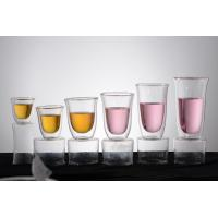 Quality Double wall glass, Heat-resistant  glass cup, borosilicate glass, Espresso, Latte, Cappuccino cup for sale