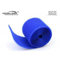 Quality Self Adhesive Decorative Hooks Unnapped Loop Tape 25M Per Roll for sale