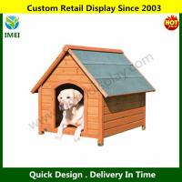 Quality Log Cabin Dog House for sale