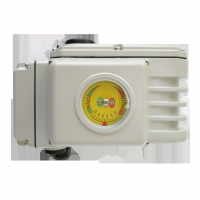 Quality DCL-05 220V Quarter Turn Electric Actuator With Valve for sale