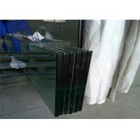 Quality Temperable Grade Tempered Safety Glass , Flat Solid Toughed Glass for sale
