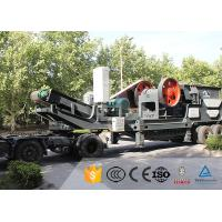 Quality American Tracked Mobile Rock Crusher Moving Henan Hongji Mine Machinery for sale