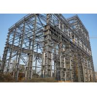 China Large Span Heavy Architectural Structural Steel Portal Frame With Bridge Crane on sale