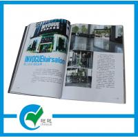 Quality Customized Pantone Color Commercial Magazine Printing with Glossy Paper for sale