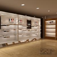 Quality Customized shoe store decoration/shoe store fixtures with logo for sale