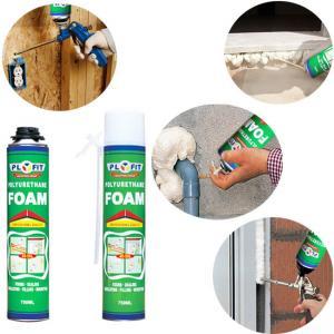 Quality SGS 750ml Polyurethane Foam Spray House Insulation Expanding Spray for sale