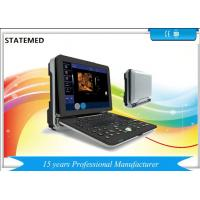 Quality Windows 7 Portable Color Ultrasound Machine Two Probe Interface 3D 4D Real Time for sale